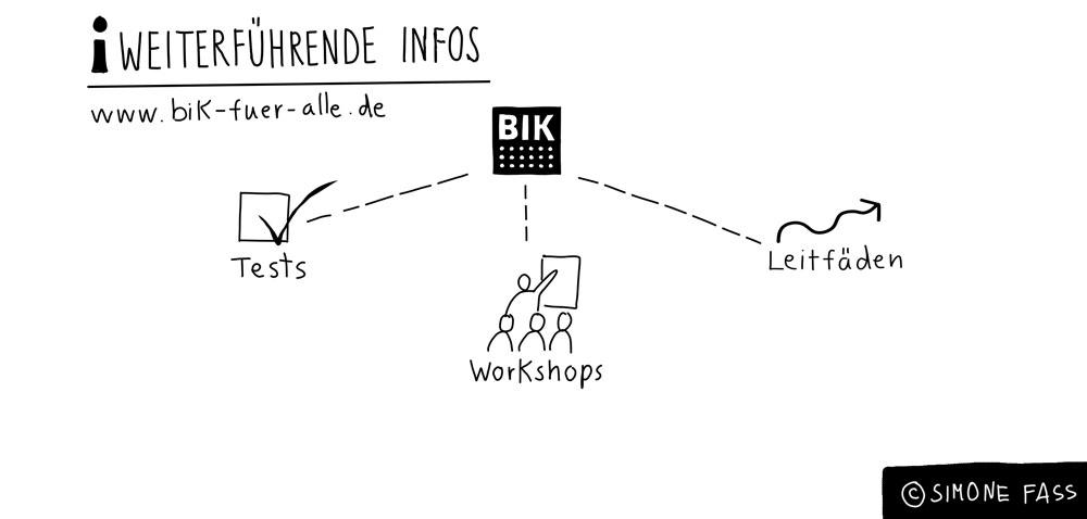 Weiterführende Infos: www.bik-fuer-alle.de